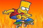 Bart Simpson Nake Skate